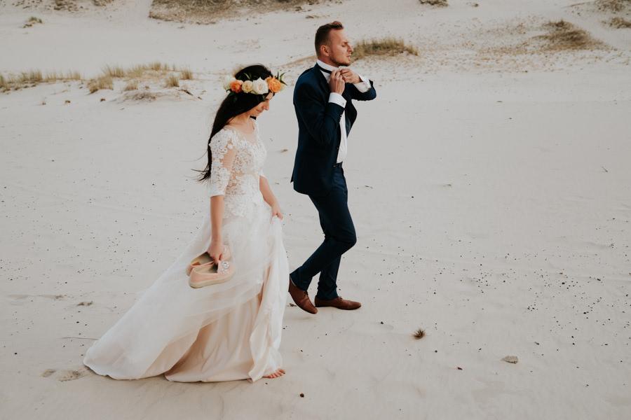 C & R - Mały Dworek Olsztyn - Sesja ślubna nad morzem 105