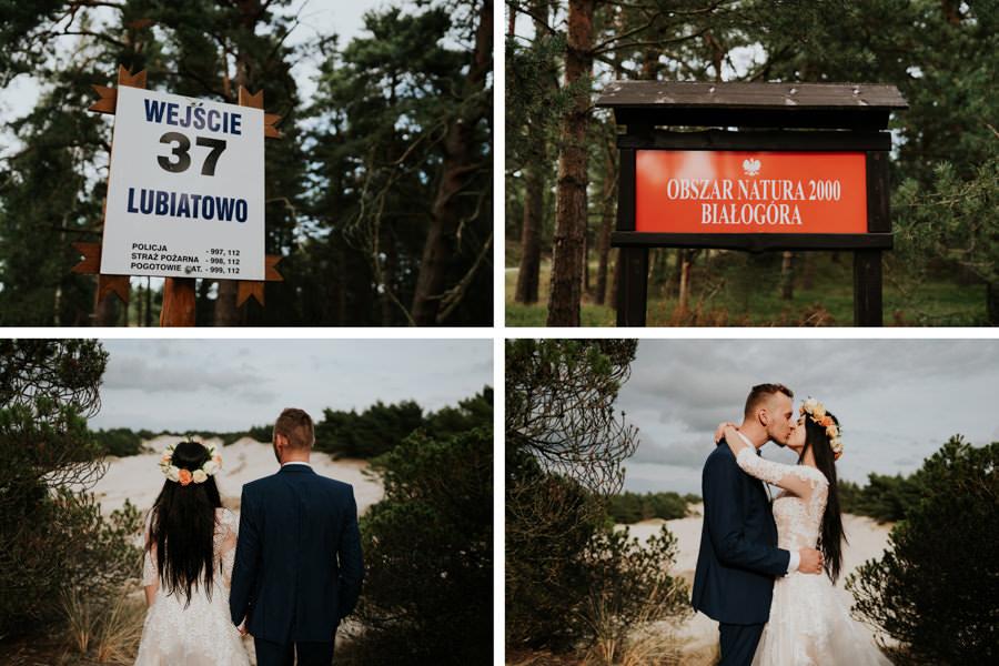 C & R - Mały Dworek Olsztyn - Sesja ślubna nad morzem 83