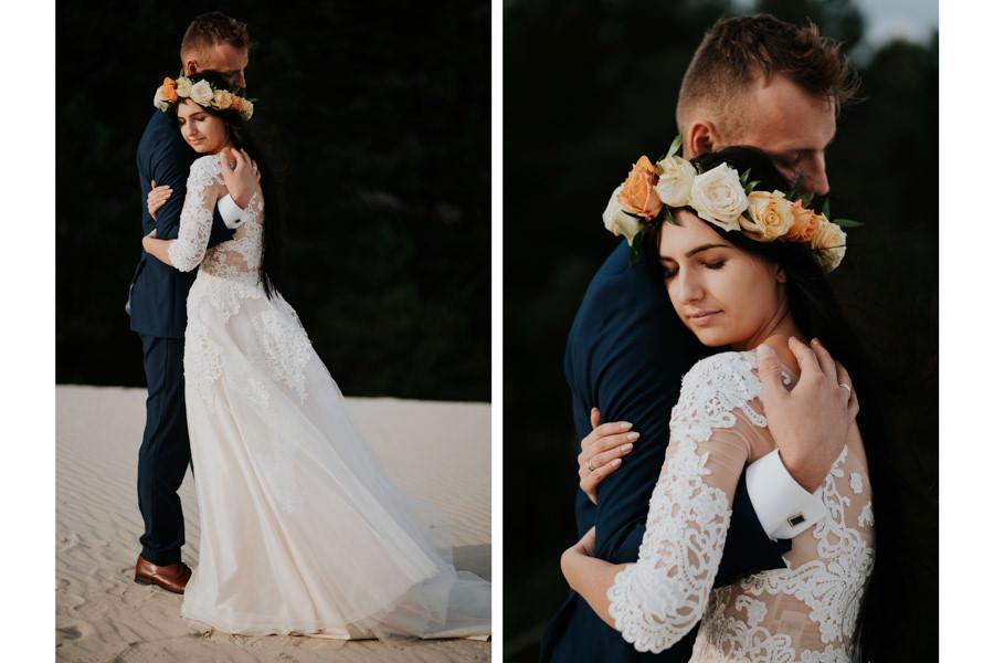 C & R - Mały Dworek Olsztyn - Sesja ślubna nad morzem 99