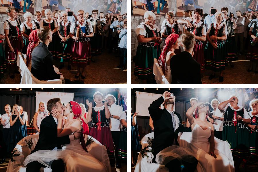M&M - Rustykalne wesele i ślub w Folwarku Kamyk - Fotograf Częstochowa 150