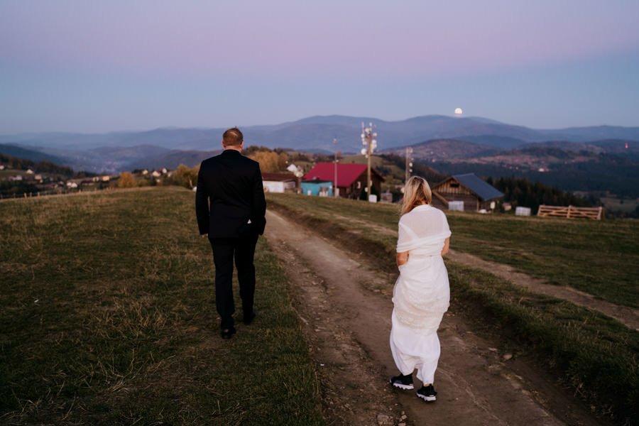 G&J - polsko-angielski ślub w Beskidach - Fotograf Ślubny Śląsk 195