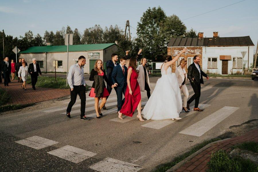 Najweselszy ślub roku - Fotografia Ślubna Częstochowa - Restauracja Kmicic 96