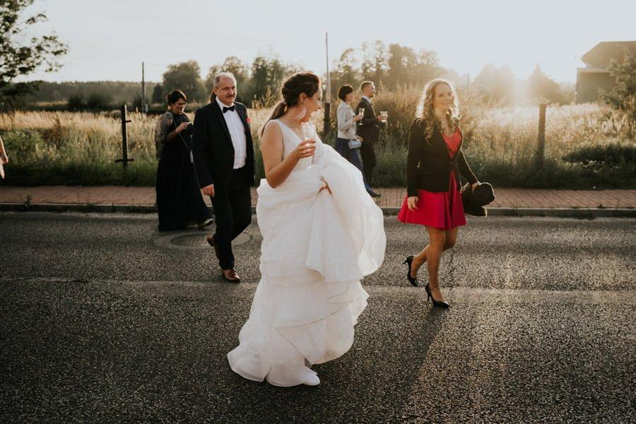 Najweselszy ślub roku - Fotografia Ślubna Częstochowa - Restauracja Kmicic 100