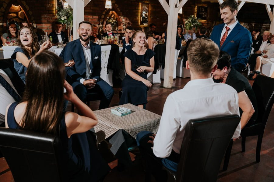 Najweselszy ślub roku - Fotografia Ślubna Częstochowa - Restauracja Kmicic 111