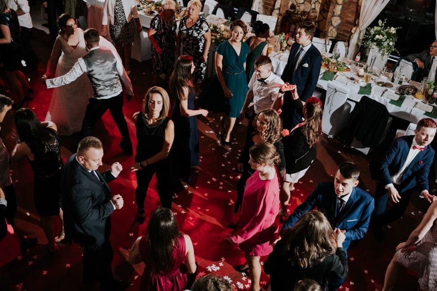 Najweselszy ślub roku - Fotografia Ślubna Częstochowa - Restauracja Kmicic 116