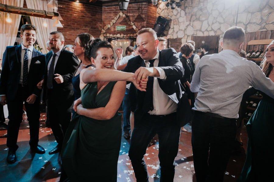 Najweselszy ślub roku - Fotografia Ślubna Częstochowa - Restauracja Kmicic 120