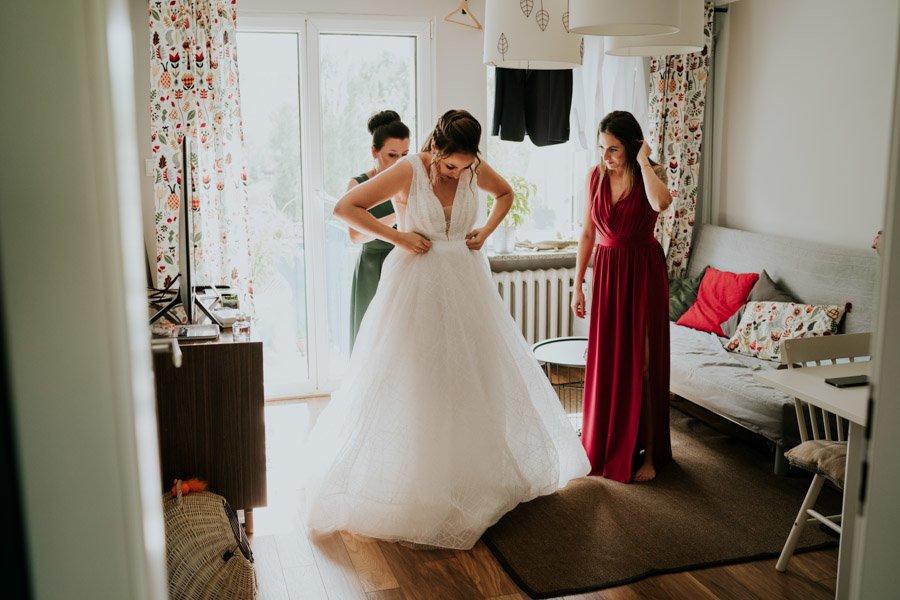 Najweselszy ślub roku - Fotografia Ślubna Częstochowa - Restauracja Kmicic 17