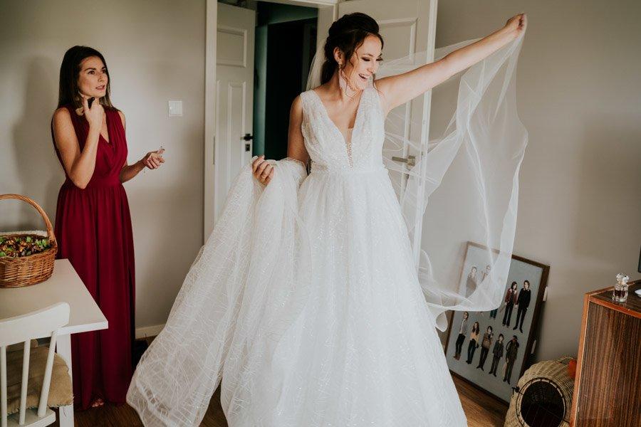Najweselszy ślub roku - Fotografia Ślubna Częstochowa - Restauracja Kmicic 22