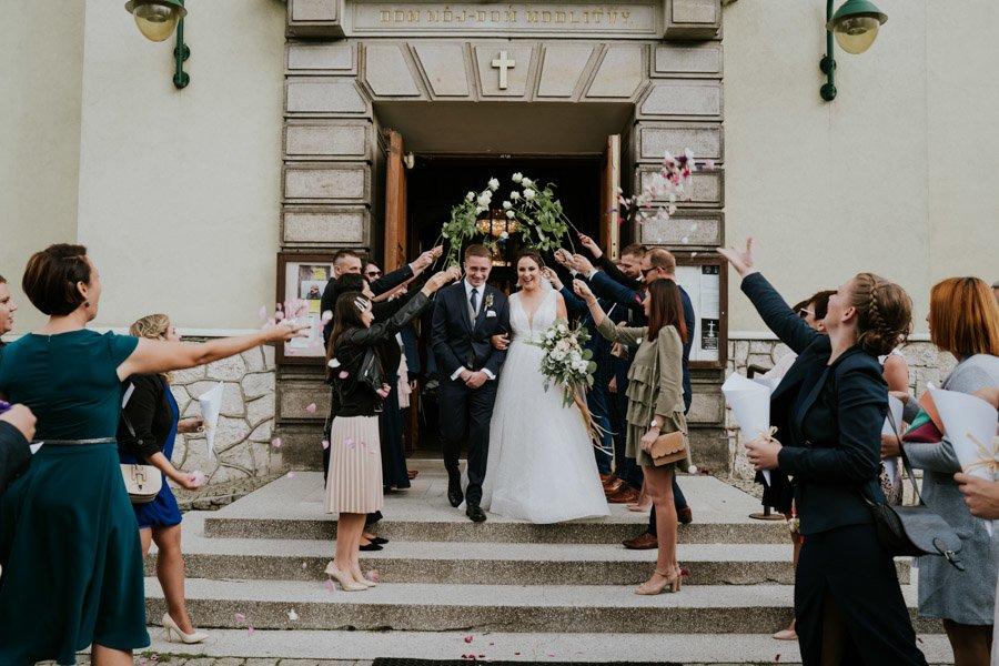 Najweselszy ślub roku - Fotografia Ślubna Częstochowa - Restauracja Kmicic 66