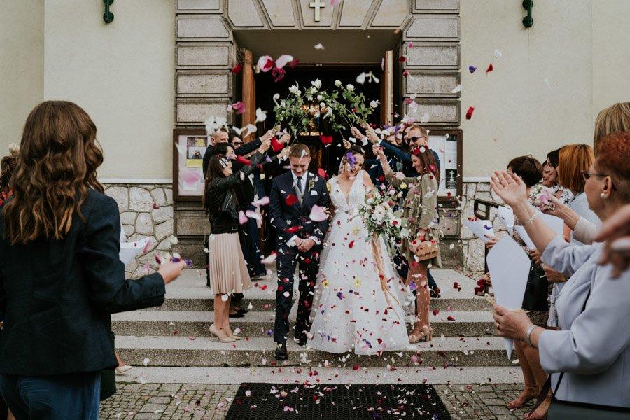 Najweselszy ślub roku - Fotografia Ślubna Częstochowa - Restauracja Kmicic 67
