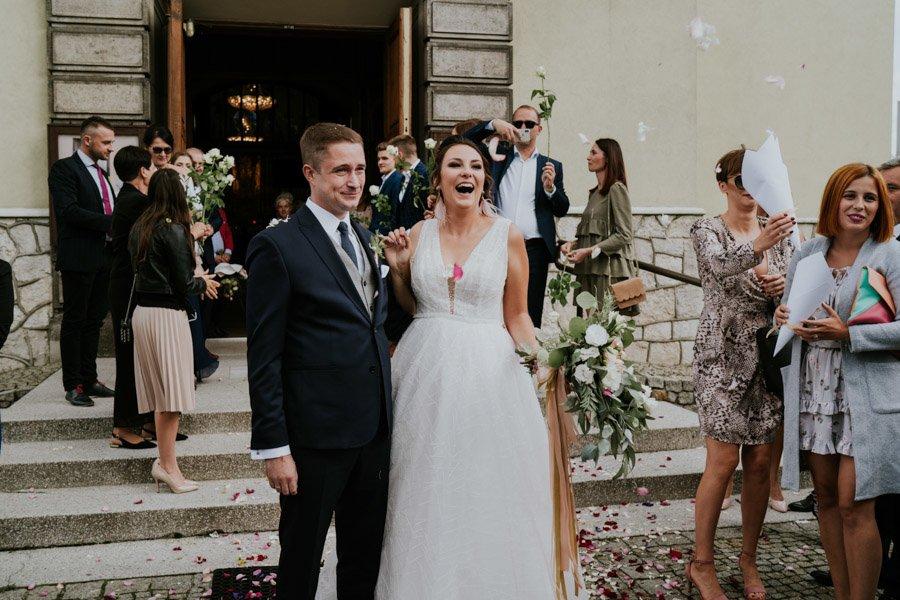 Najweselszy ślub roku - Fotografia Ślubna Częstochowa - Restauracja Kmicic 68
