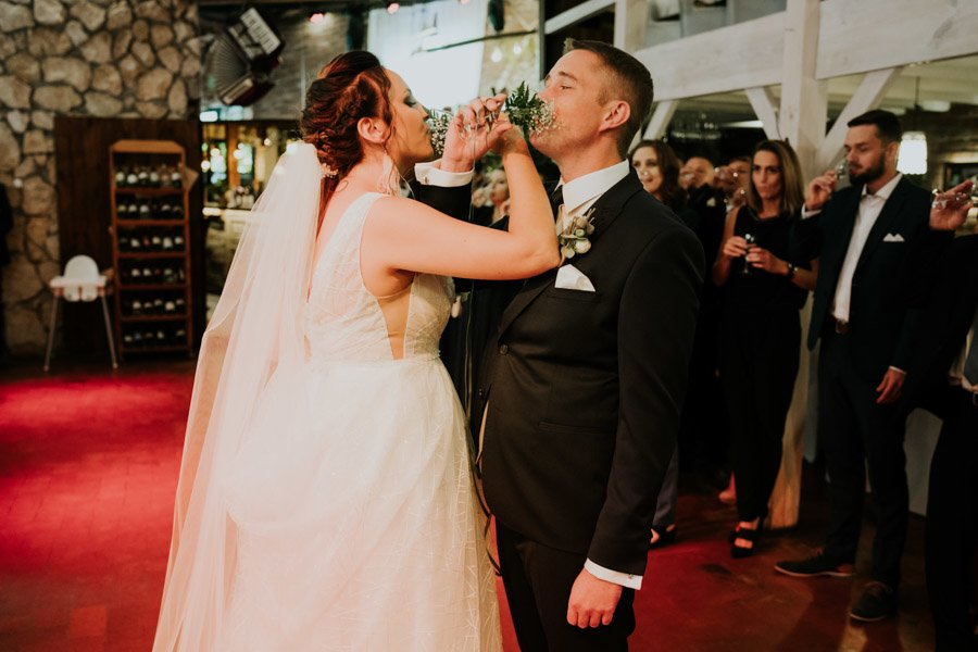 Najweselszy ślub roku - Fotografia Ślubna Częstochowa - Restauracja Kmicic 72