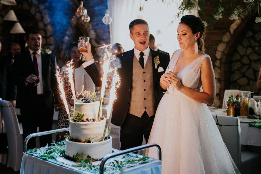 Najweselszy ślub roku - Fotografia Ślubna Częstochowa - Restauracja Kmicic 90